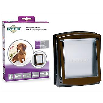 Petsafe Staywell Pet Door Brown Small 730EF