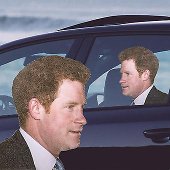 Ride with prince harry - car window decal