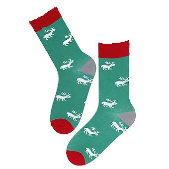 Moose vzor bavlněné ponožky