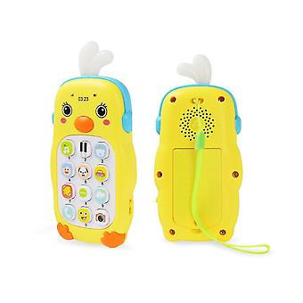 Telephone Music Sound Machine Forildren Infant Early Educational Mobile Phone