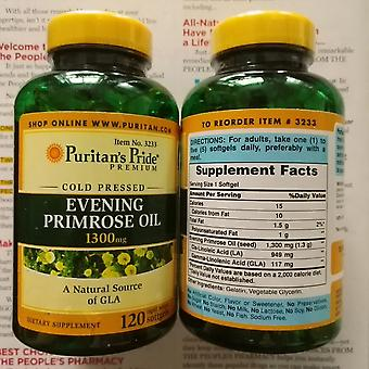 Evening Primrose Oil 1300 Mg A Natural Source Of Gla