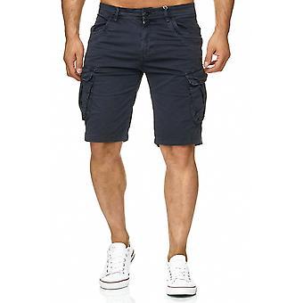 Miesten Bermuda lastin shortsit Stretch-farkut näyttää lyhyen Caprihousut kesällä Vintage