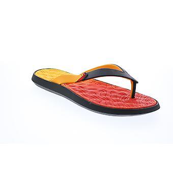 Rider R1 Plus II Mens Preto Chinelos Sintéticos Sapatos de Sandálias