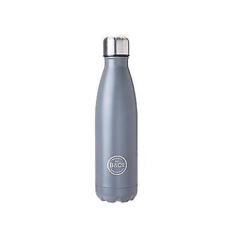 Summit B&Co Mono 500ml Botella Frasco Gris