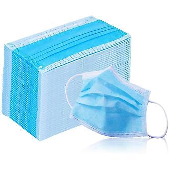 Jednorázové chirurgické prach 3-ply obličejové masky s ušní smyčkou (balení 50)