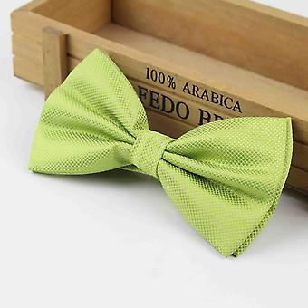 Plaid Bow Ties Groom Solid Fashion Cravat Marriage Wedding Party Bow Ties