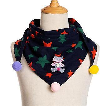 Neue Frühling Dot Print Baumwolle Dreieck Schal für Herbst Winter Baby, Tuch