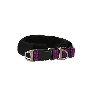 Lined necklace Emmi, purple