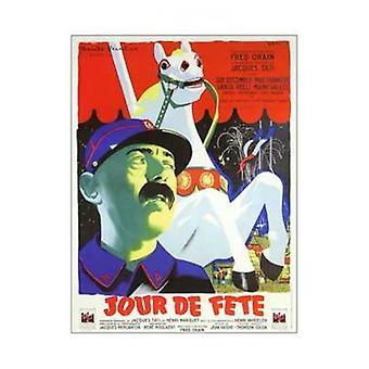 Jour De Fete Movie Poster (11 x 17)