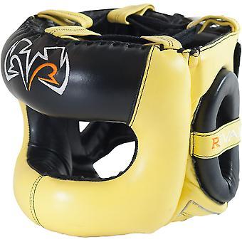 Rivaal boksen Guerrero Facesaver hoofddeksels - geel