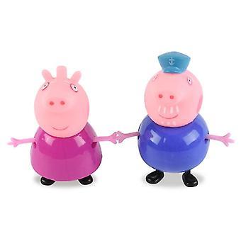 أنيمي بيبا الخنزير الأسرة جورج العمل الرقم مختلف نموذج دمية