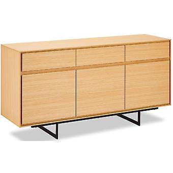 Ibbe Design Tokyo Sideboard Kleine Eiche, 155x92x82 cm