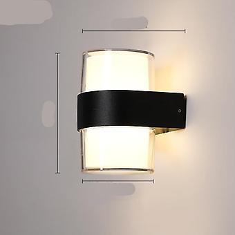 Lumière de mur dirigée avec la détection humaine de mouvement de corps, lampe extérieure imperméable à l'eau ip65