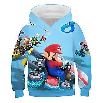 Cartoon Fashion 3d Print Soft Hoodie Clothing Hooded Sweatshirt