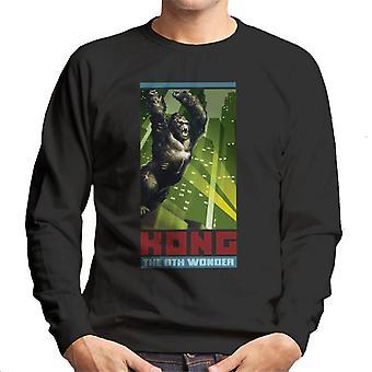 King Kong The 8th Wonder City Rage Men's Sweatshirt