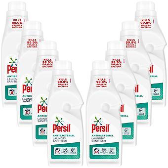 8x Van 12 Wasbeurten Persil Antibacteriële Wasserij Sanitiser 1.2Liter, Totaal 96 Wasbeurten