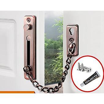 304 roestvrij staal anti diefstal deur ketting gesp vergrendeling met nagel vrije lijm