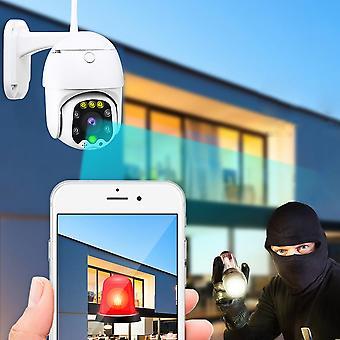 WiFi 1080P HD CCTV IP Camera Waterproof Outdoor PTZ Security Wireless IR Camera