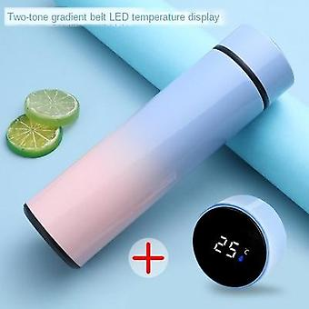 Intelligent Stainless Steel Thermos Bottle Cup Temperature Display Vacuum
