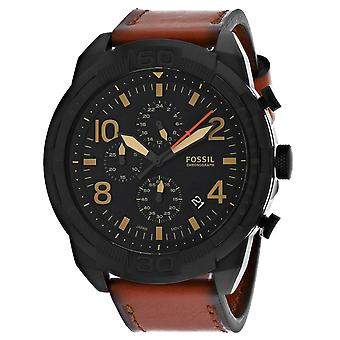 Fossil Men's Bronson Black Dial Watch - FS5714