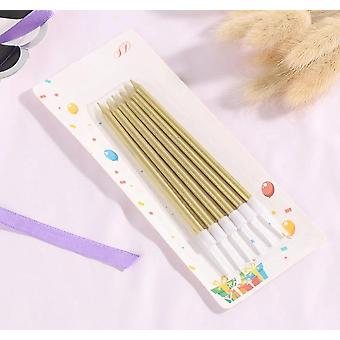 Long Pencil Cake Candle Safe Flames Kids Birthday Party