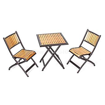 Courtyard Solid Wood Table And Chairs