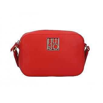 Women's Liu-jo Crossbody S Crossbody Crossbody Bag In Red Faux Leather Bs21lj24 Aa1117