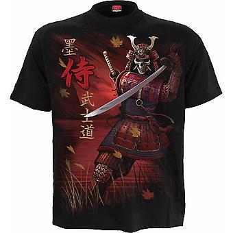 Samurai T-paita Musta
