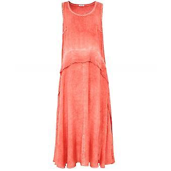Crea Concept Draped Sleeveless Dress