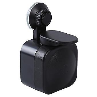 Liquid soap dispenser wall mounted press suction cup soap dispenser detergent shampoo dispensers double hand kitchen soap bottle