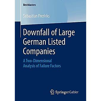 سقوط الشركات الألمانية الكبيرة المدرجة - تحليل ثنائي الأبعاد