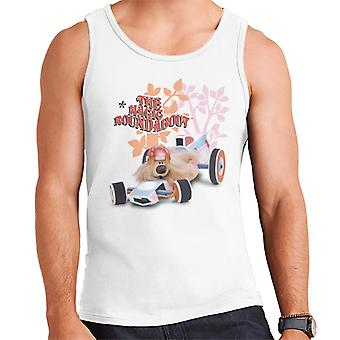 The Magic Roundabout Dougal Race Car Men's Vest