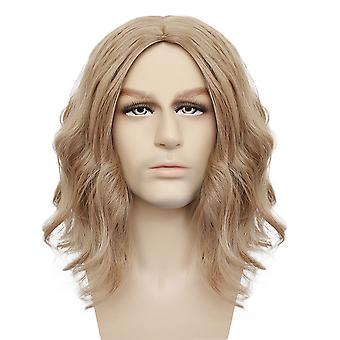 Marvel Cosplay Wigs Captian Wonder Carol Synthetic Hair Wigs