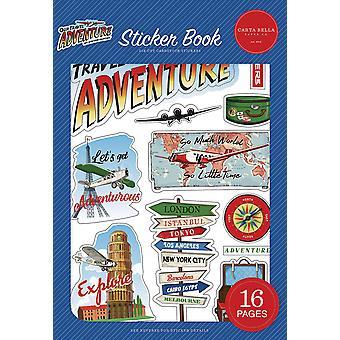 Carta Bella Our Travel Adventure Sticker Book