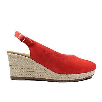 Gabor 580-48 Punainen Mokkanahka Naisten Kiila Sandaalit