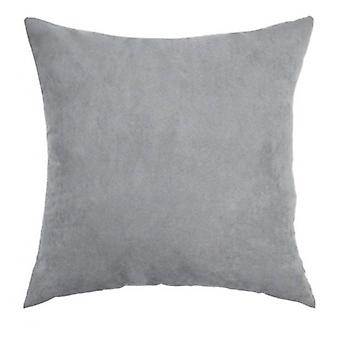 pillow 40 x 40 cm suede grey
