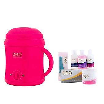 DEO Heater Kit for Warm Crème & Hot Wax Lotions - Pink - 10 Settings - 1000cc