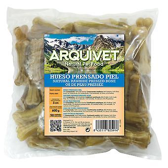 Arquivet Pressed Bone Skin 5 Cm / 10 Gr (Dogs , Treats , Bones)