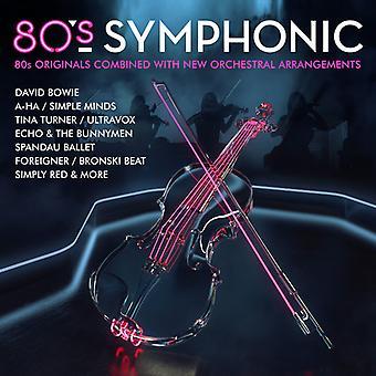 Various Artist - 80's Symphonic [CD] USA import