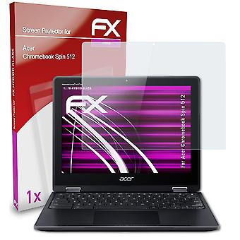atFoliX Glass Protector compatible with Acer Chromebook Spin 512 9H Hybrid-Glass