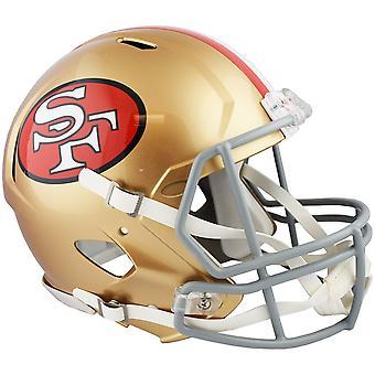 Riddell Speed Authentic Helmet - San Francisco 49ers 1964-1995