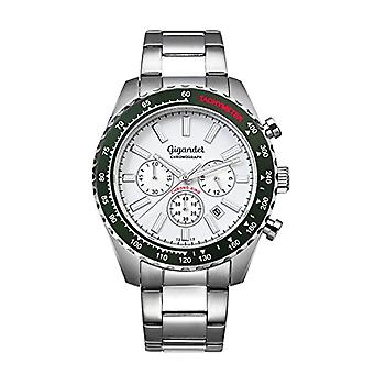 Gigandet Chrono King Men's Watch Analog Chronograph Quartz Green Silver G28-004