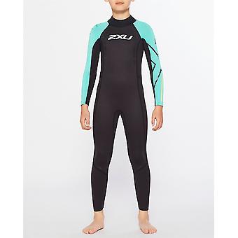 2XU Kids Propel Youth Wetsuit Triathlon Swimming Cycling Running Sports Suit