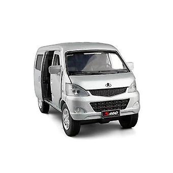 1:32 Changan Star Simulation Alloy  Minivan Model Toy Car Metal Die Cast Sliding Sound Light