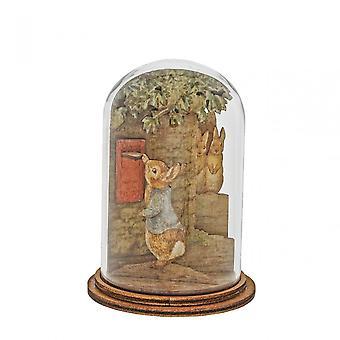 Beatrix Potter Peter Posting Letter Wooden Figurine