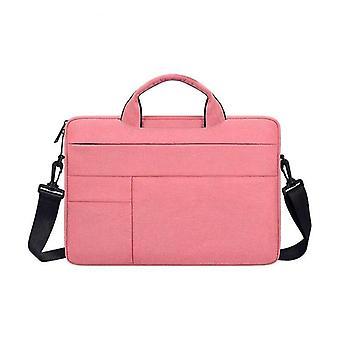 Men Women Briefcase Waterproof Pocket Case Computer Shoulder Handbag