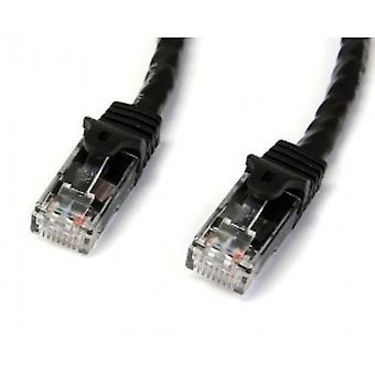 7m Black Gigabit Snagless RJ45 UTP Cat6 Patch Cable - 7 m Patch Cord