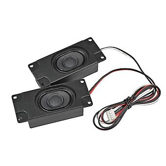 Aiyima 2st Ljud bärbara högtalare 3070 4ohm 3w Datorhögtalare