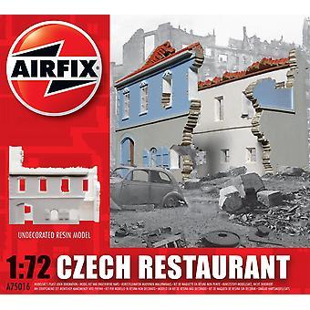 チェコレストラン樹脂台無し建物エアフィックスモデルキット
