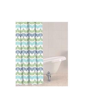 Sabichi Shower Curtain 180 x 180cm Waves